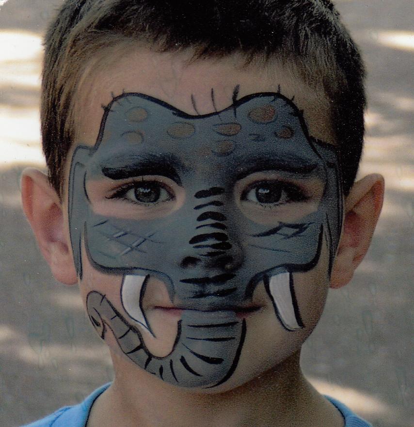 Zoo Body Paint