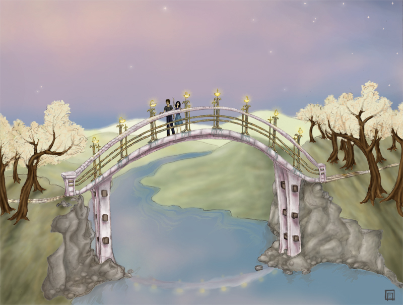 Sacred Bridge by soma