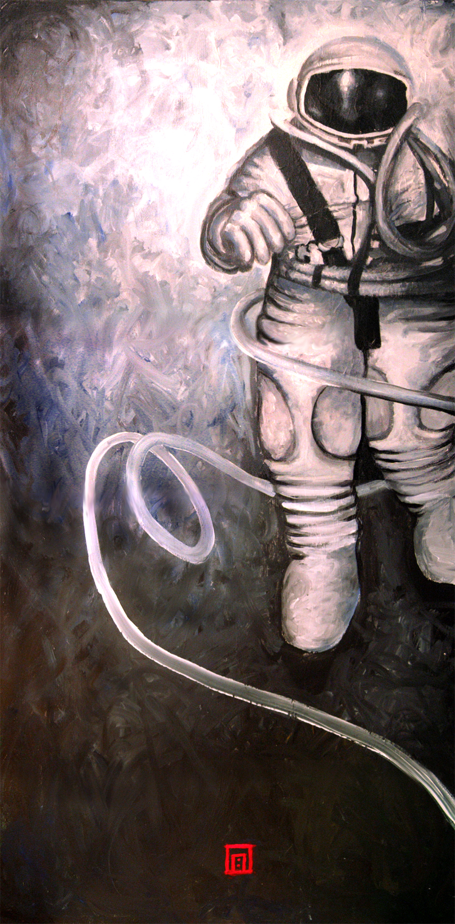 Cosmonaut Aleksey Leonov by soma