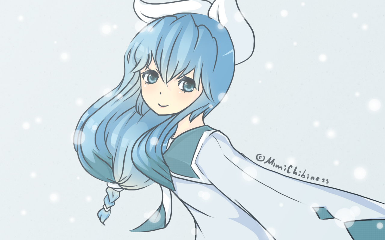 Pokemon - Gijinka!Glaceon by MimiChibiness on DeviantArt