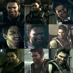 Chris Redfield On Resident Evil Men Deviantart