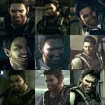 [Resident Evil 5] Chris Redfield Evil Smile by DaddyCaptainWesker