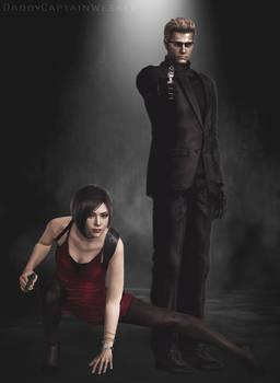 [Resident Evil] Ada Wong and Albert Wesker