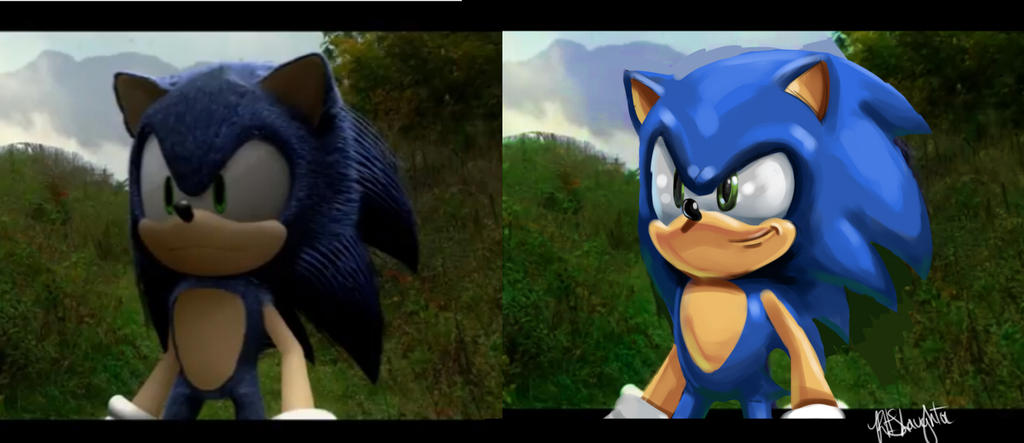 Sonic The Hedgehog Fan Film Comparison By Rhslaughter On Deviantart
