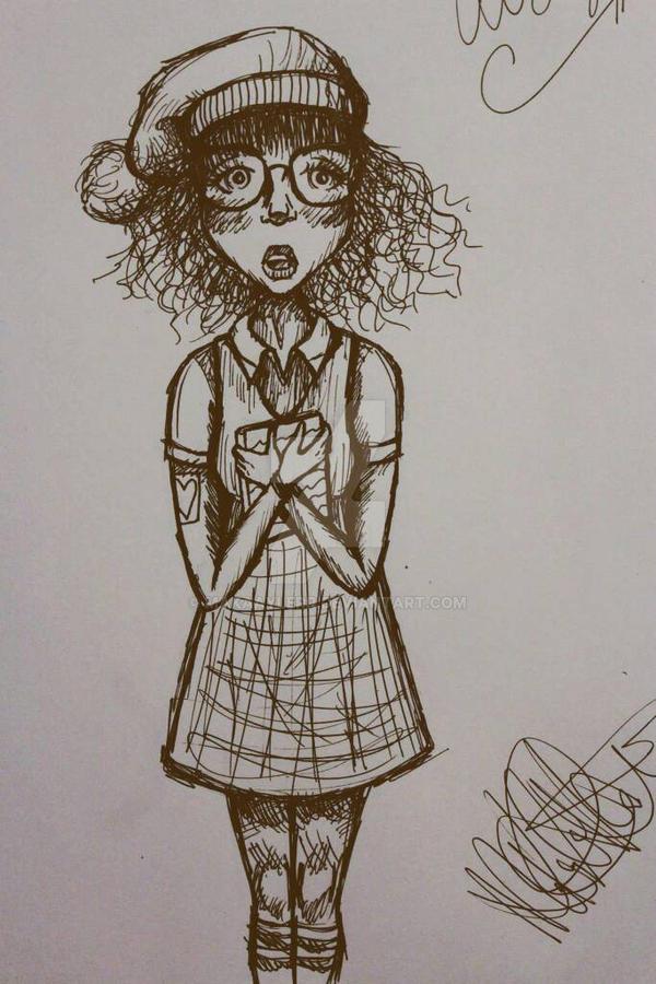 School Girl by makaaylerr