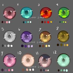Eye Swatches