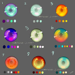 More Eye Swatches by Overlord-Jinral