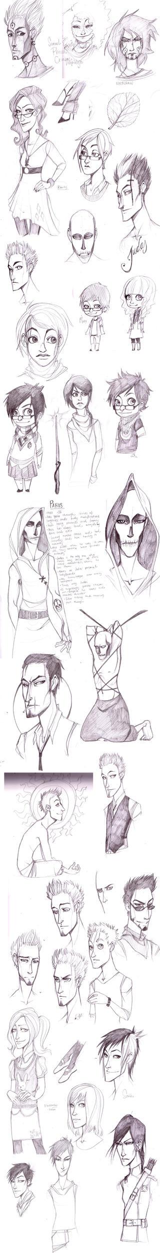 Sketchdump 021 by erli