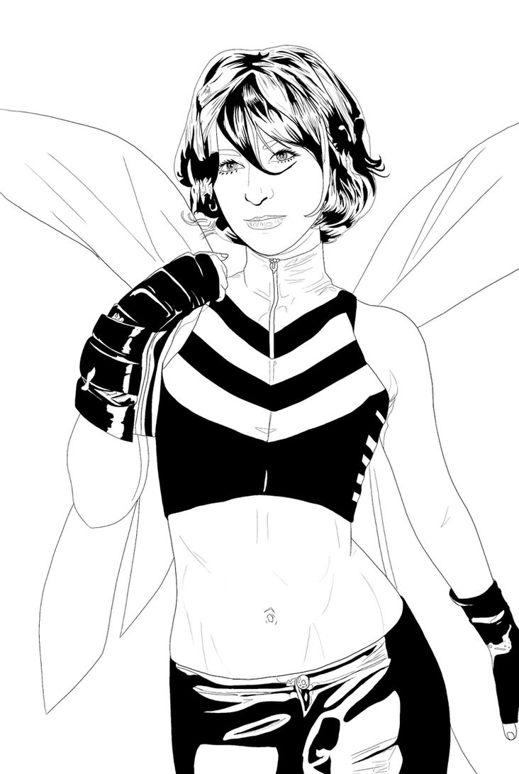 Wasp by artista-frustrado
