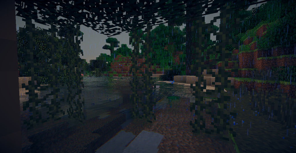 Rain Minecraft Wallpaper by KarkatDoesMinecraft ...