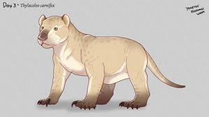 Yoofilos' mammal week day 3 - Thylacoleo carnifex