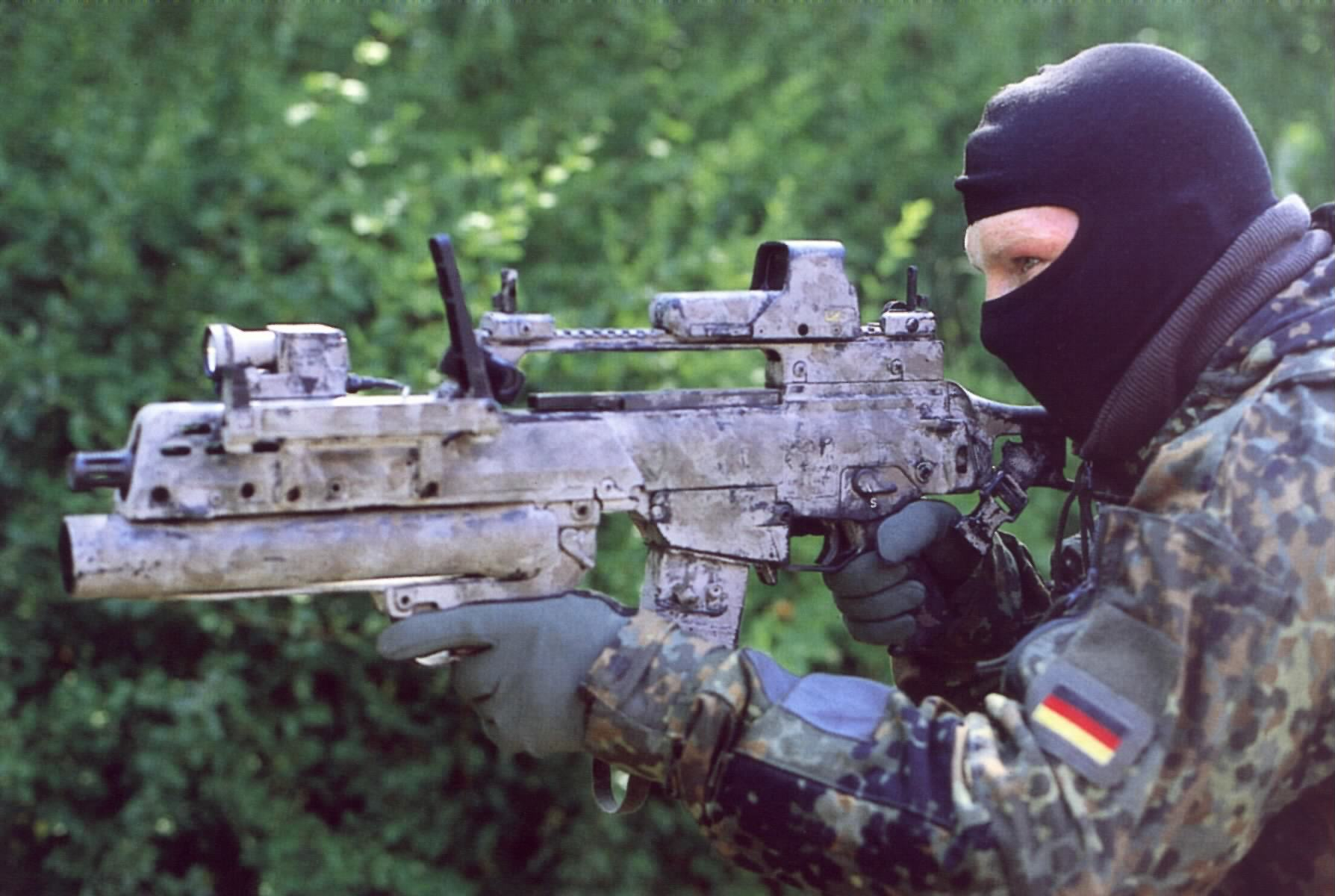 Member of the German Army's Special Forces Command
