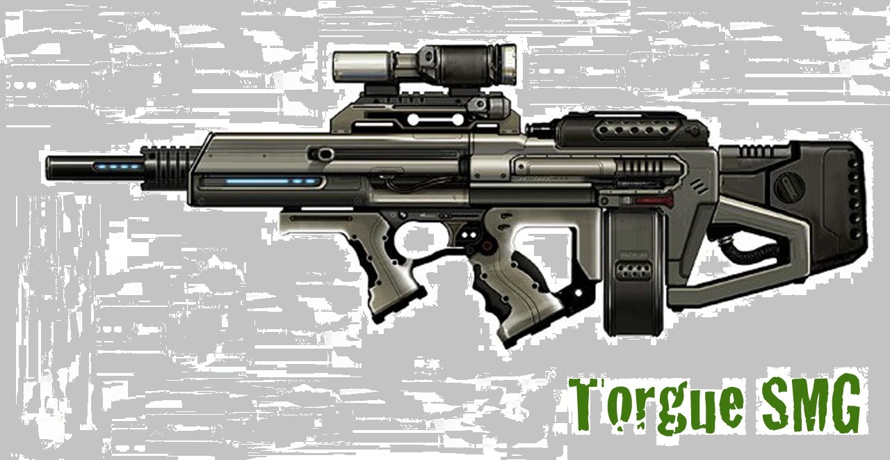 Torgue SMG by Leviathan187