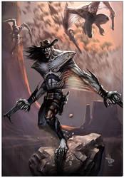 Vamp-Gunslinger by Dave-Wilkins