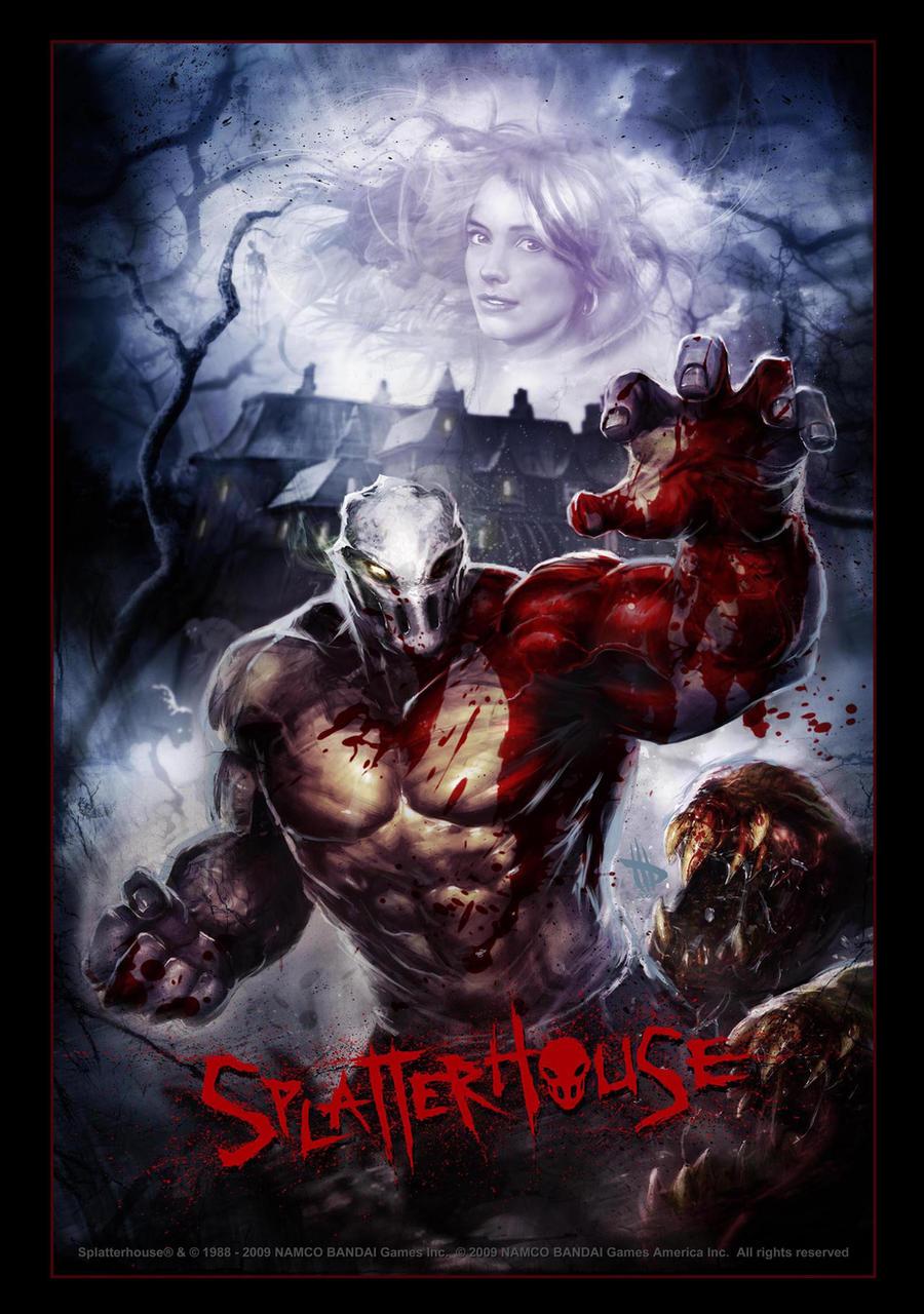 Splatterhouse 2010 part one bloodgasm - 5 10