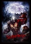 SPLATTERHOUSE SDCON poster