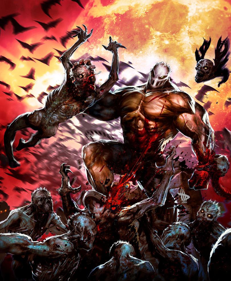 PLAY Magazine Splatterhouse by Dave-Wilkins
