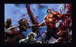 SplatterHouse E3 Banner Art