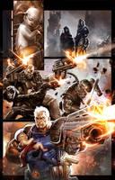 ORIGINS MARVEL COMICS: X-MEN by Dave-Wilkins