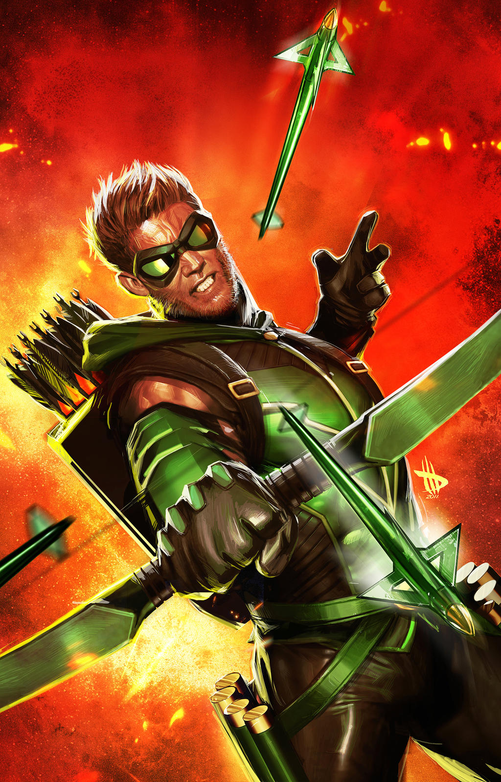 Green Arrow...