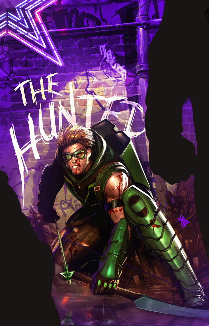 Green Arrow round 2 by Dave-Wilkins