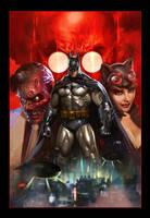 Batman Arkham Unhinged by Dave-Wilkins