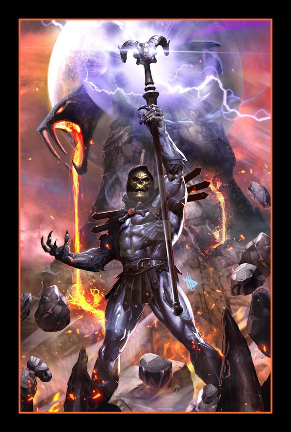 Skeletor Variant by Dave-Wilkins