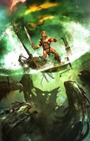 Heman MOTU cover 3 by Dave-Wilkins