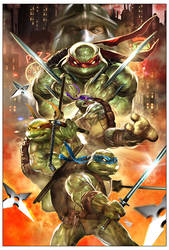 Powercon2013 TMNT by Dave-Wilkins