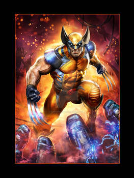 Sideshow Marvel-Print-Wolverine