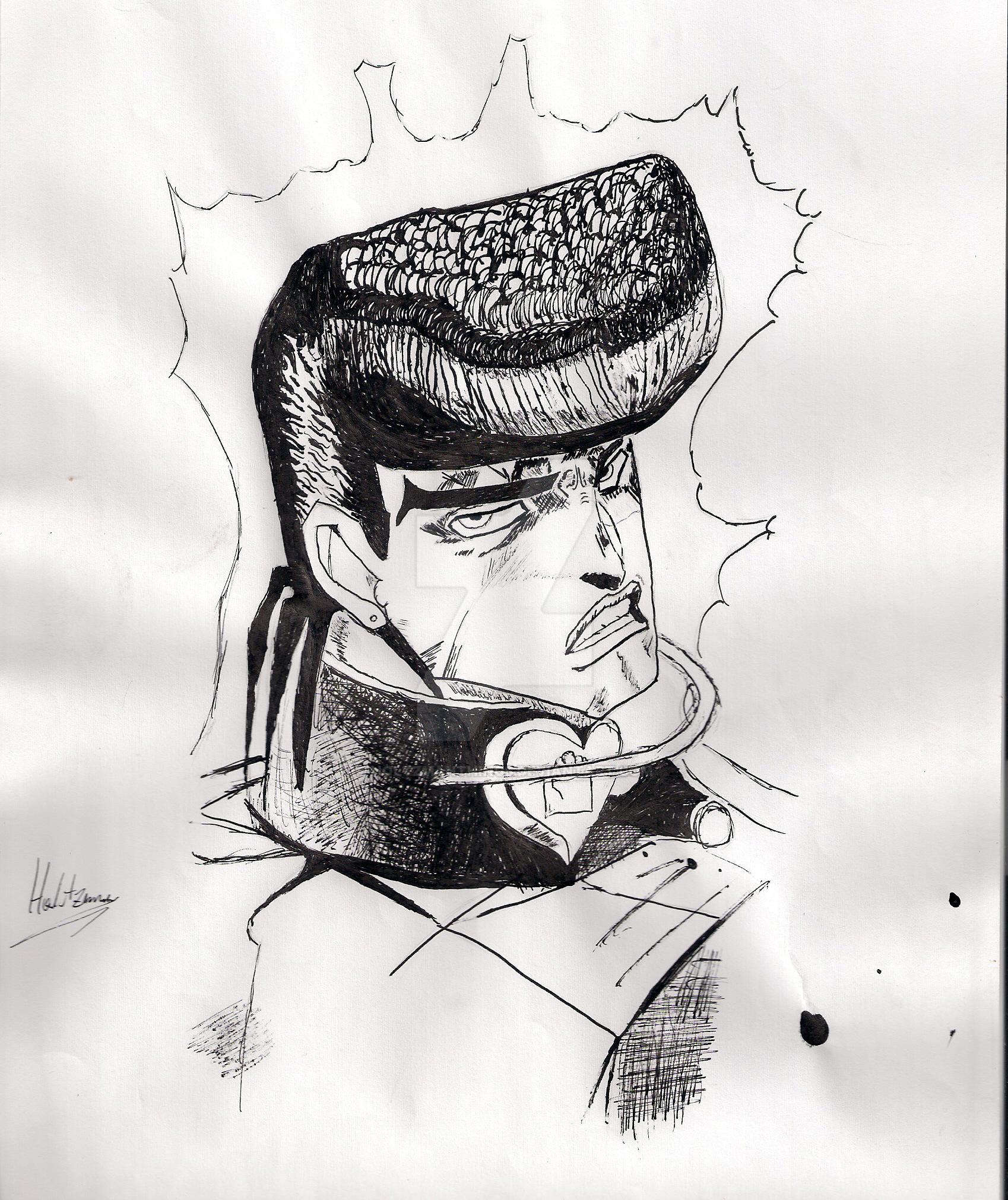 Josuke Higashikata 2 By HoltzmanThings On DeviantArt