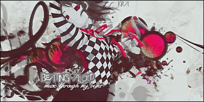 Feel music through my veins by KondezaKira