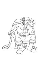 Old Ironfang (lines)