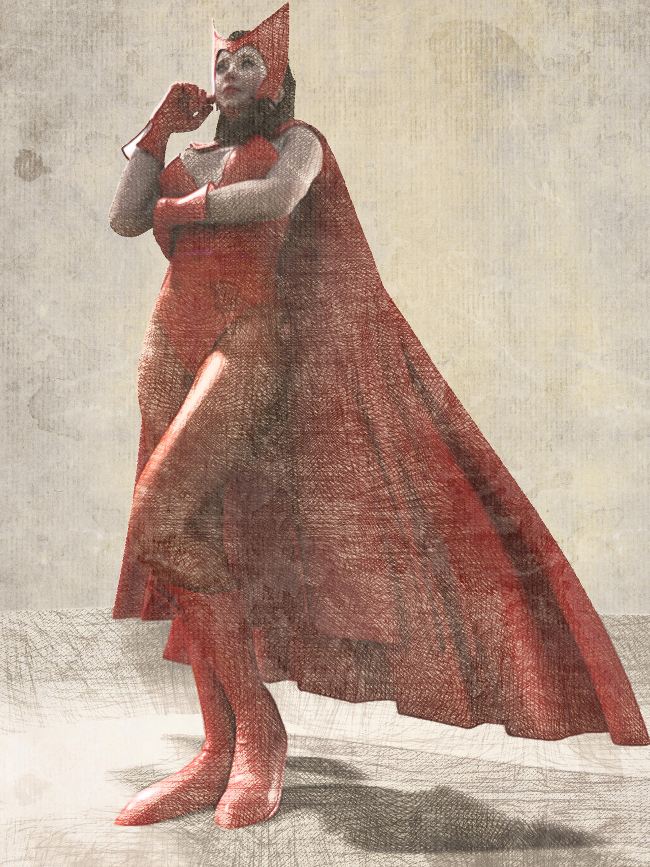 ScArlEt WitcH by mrkillabee