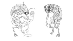 Alien Workers by mattbag
