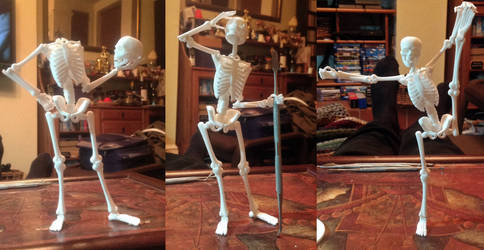 Holy Over Theatrical Dancing Skeletons Batman!