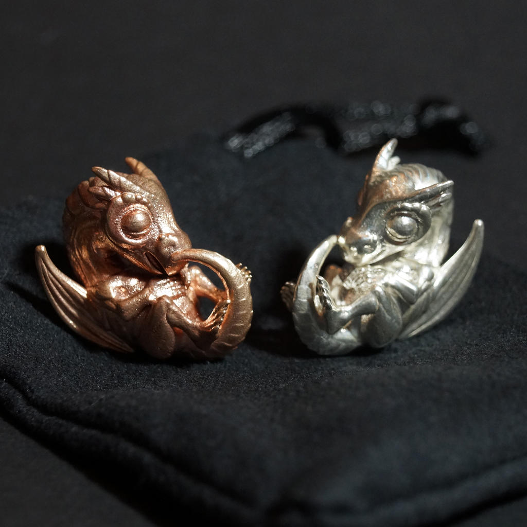 Dragon Amulets by mattbag