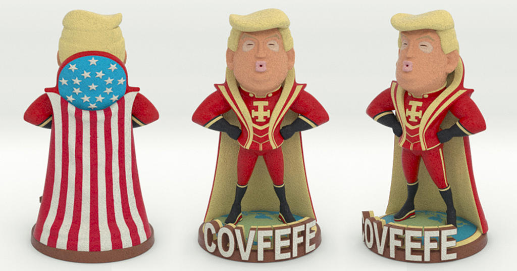 Covfefe Trump by mattbag