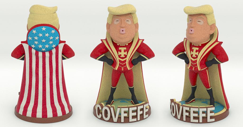 Covfefe Trump by mattbag