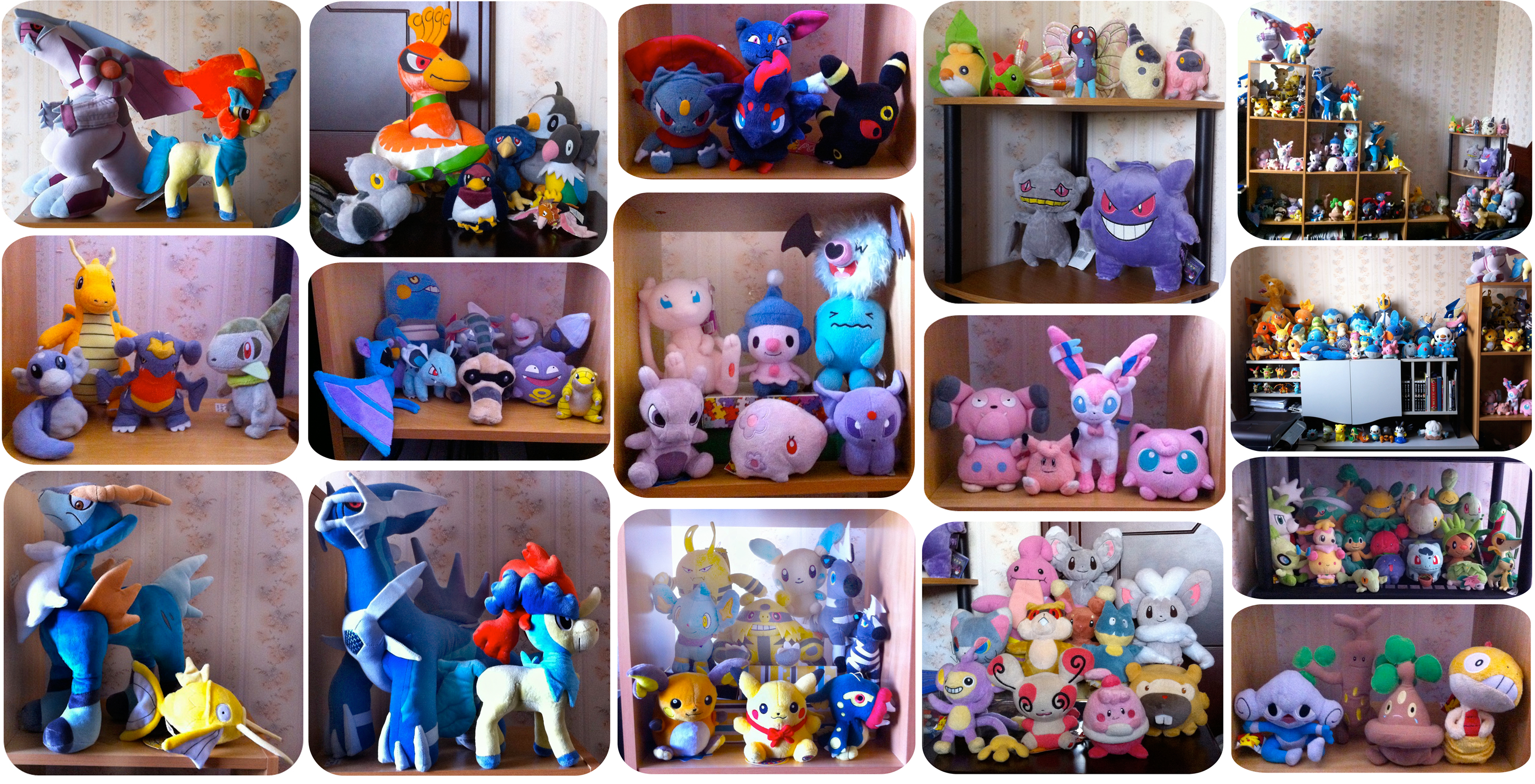 Pokemon Collection Update!~ by Neoncito