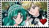 Michiru x Haruka stamp by Neoncito