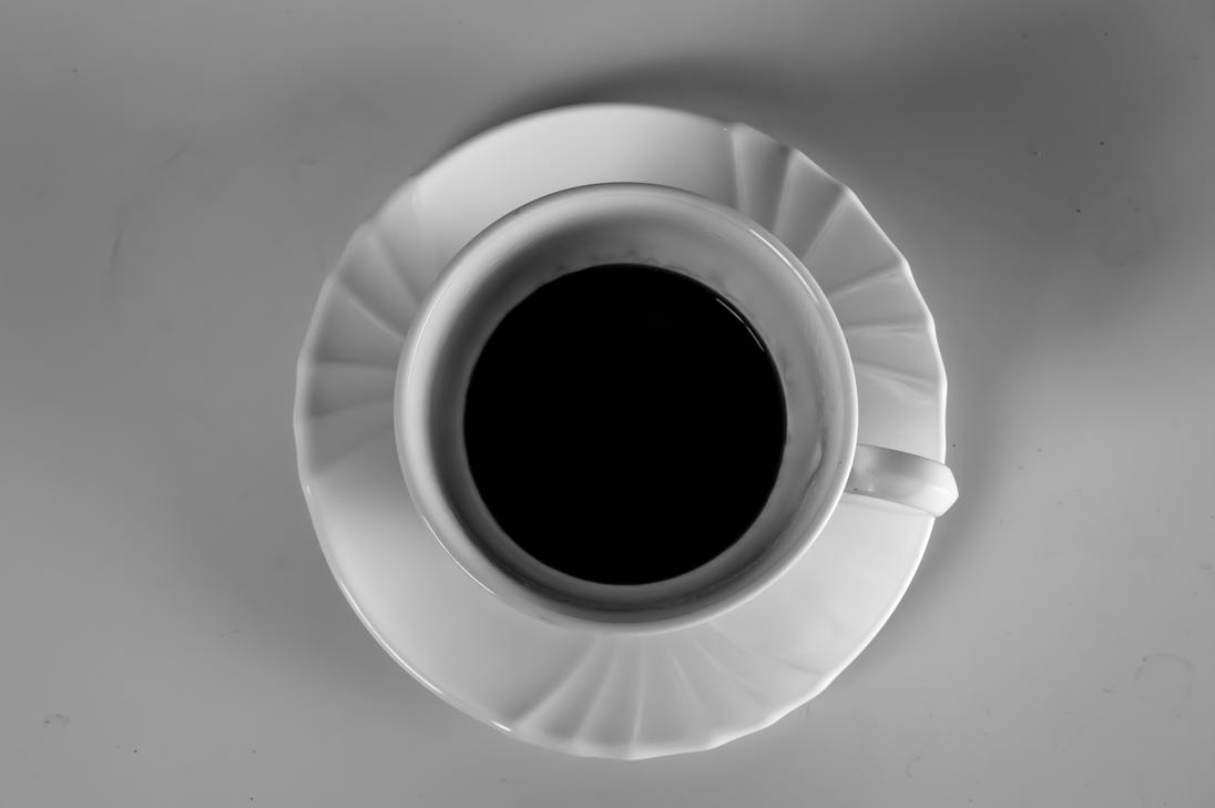 Black and White coffee by willos2