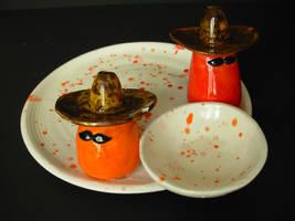 fiesta chip and dip bowl by uwwdfl