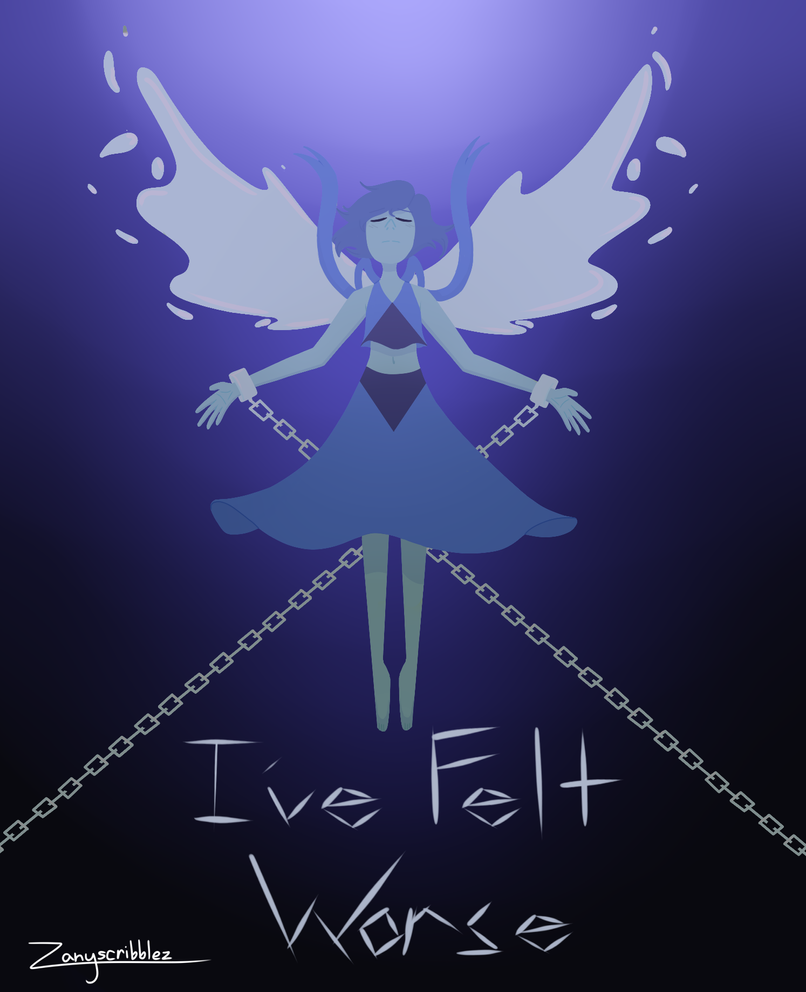 Lapis Lazuli, one of the first child cartoon characters to weaponize depression