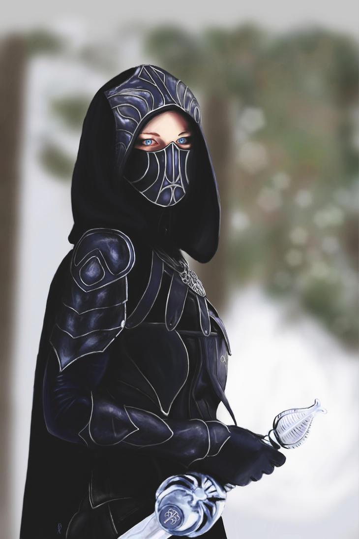Female Assassin by AndyDragonPark on DeviantArt