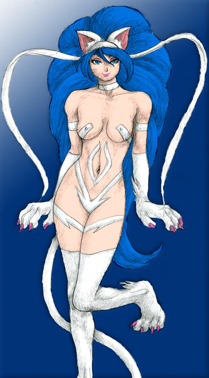 3rd Colored Felicia by AngelicDemonSlayer