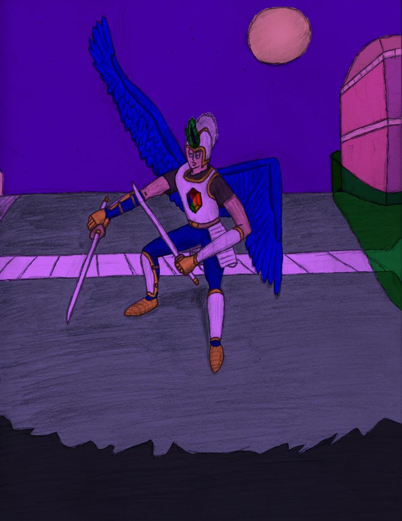 SR Human Armored by AngelicDemonSlayer