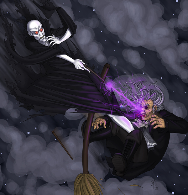 Voldemort and Moody -DHspoilz- by madcarrot on DeviantArt
