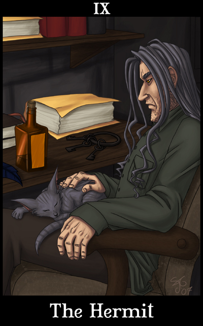 HP Tarot - The Hermit