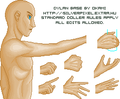 Dylan base by OKami-hu